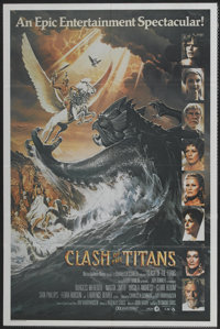 "Clash of the Titans (CIC, 1981). Australian One Sheet (27"" X 40""). Fantasy"