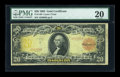 Large Size:Gold Certificates, Fr. 1180 $20 1905 Gold Certificate PMG Very Fine 20....
