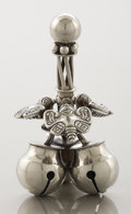 Silver Smalls:Other , A MEXICAN SILVER DINNER BELL. William Spratling, Taxco, Mexico,circa 1960. Marks: WILLIAM SPRATLING, TAXCO MEXICO, scri...