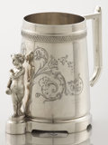 Silver Holloware, American:Cups, AN AMERICAN SILVER BABY CUP. Gorham Manufacturing Co., Providence,Rhode Island, circa 1880. Marks: (lion-anchor-G), GEO. ...