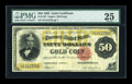 Large Size:Gold Certificates, Fr. 1197 $50 1882 Gold Certificate PMG Very Fine 25....