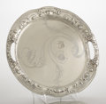 Silver Flatware, American:Gorham, AN AMERICAN SILVER TRAY . Gorham Manufacturing Co., Providence,Rhode Island, circa 1900. Marks: (lion-anchor-G),Athenic,...