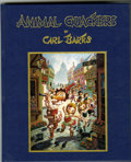 Books:Fine Press and Limited Editions, Carl Barks - Animal Quackers, 358/1000 (Gemstone, 1996)....