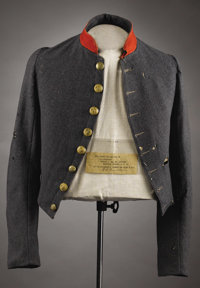 Stonewall Jackson's Courier, The Shell Jacket of Private Benjamin S. Pendleton - Worn at the Surrender at Appomattox Thi...
