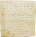 "Military & Patriotic:Civil War, Important Ulysses S. Grant Autograph Document Signed - ""Surrender of the Army of Tennessee"" ""U.S. Grant Lt Gen"", one pag..."