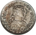 Mexico: , Mexico: Ferdinand VII Half Real 1813 M0-JJ, KM73, Cayon-15095, MS64NGC. Well struck and lustrous with pleasing, original russet, gr...