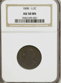 Half Cents: , 1808 1/2 C AU50 NGC. NGC Census: (4/25). PCGS Population (5/32).Mintage: 400,000. Numismedia Wsl. Price for NGC/PCGS coin ...