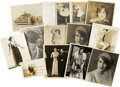 Movie/TV Memorabilia:Autographs and Signed Items, Mae Clarke's Photographs from Stage and Early Film Career,1922-29.... (Total: 13 Items)