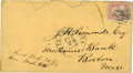 "Autographs:U.S. Presidents, John Wilkes Booth Envelope, Boldly Addressed in Booth's hand to""J.H. Simonds, Esq / Mechanics Bank / Boston, / Mass."", ..."