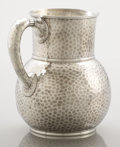 Silver Holloware, American:Pitchers, AN AMERICAN SILVER PITCHER . Tiffany & Co., New York, New York, circa 1877. Marks: TIFFANY & CO., 4706 MAKERS 2687, STERLI...