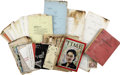 Movie/TV Memorabilia:Memorabilia, Billy Wilder Some Like It Hot Production Archive....
