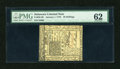 Colonial Notes:Delaware, Delaware January 1, 1776 20s PMG Uncirculated 62....