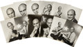 Movie/TV Memorabilia:Photos, Billy Wilder's File of Yul Brynner Photographs.... (Total: 12Items)