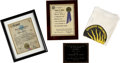 Movie/TV Memorabilia:Awards, Glenn Ford's Assorted Awards.... (Total: 4 Items)
