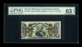 Fractional Currency:Third Issue, Fr. 1332 50c Third Issue Spinner PMG Choice Uncirculated 63 EPQ....