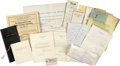 Movie/TV Memorabilia:Documents, Charles Brackett Family Documents Archive....