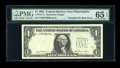 Error Notes:Third Printing on Reverse, Fr. 1911-C $1 1981 Federal Reserve Note. PMG Gem Uncirculated 65 EPQ.. ...
