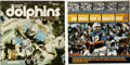 Football Collectibles:Others, Larry Csonka and Bob Griese Signed Albums Lot of 2.... (Total: 2 items)