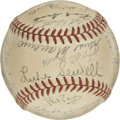 Autographs:Baseballs, 1950 Cincinnati Reds Team Signed Baseball....