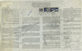 Autographs:Celebrities, Gemini 8 U.N. Outer Space Treaty with First Day Cancellation Signed by Armstrong and Scott....