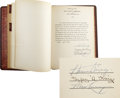 Movie/TV Memorabilia:Autographs and Signed Items, Henry King - Abbott Enterprises Inc. Office Book, 1930-1940....