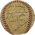 Autographs:Baseballs, 1940 New York Yankees Team Signed Baseball....