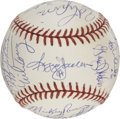 Autographs:Baseballs, 1977-78 New York Yankees Team Signed baseball....