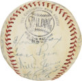 Autographs:Baseballs, 1952 Philadelphia Phillies Team Signed Baseball....