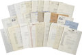 Movie/TV Memorabilia:Memorabilia, Vincent Price Correspondence Archive.... (Total: 29 Items)