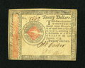 Colonial Notes:Continental Congress Issues, Continental Currency January 14, 1779 $20 About New....