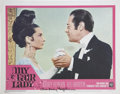 Movie/TV Memorabilia:Autographs and Signed Items, Audrey Hepburn Signed My Fair Lady Lobby Card....