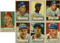 Baseball Cards:Lots, 1952 Topps Baseball Collection (50). ... (Total: 50 cards)