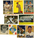 Baseball Cards:Lots, 1910s-1970s Brooklyn and Los Angeles Dodgers Collection (147)...