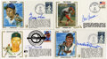 Autographs:Others, Hall of Fame Signed First Day Covers Lot of 7.... (Total: 7 items)