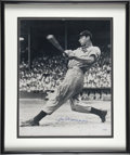 "Autographs:Photos, Joe DiMaggio Signed 16""x 20"" Framed Photograph...."