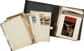 Movie/TV Memorabilia:Documents, Billy Wilder Scrapbook from 1959 Vienna Tour....