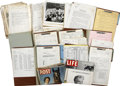 Movie/TV Memorabilia:Documents, Billy Wilder Sabrina Production Archive.... (Total: 13Items)