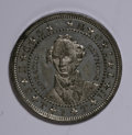 U.S. Presidents & Statesmen, 1868 Horatio Seymour Campaign Medal, Uncirculated....