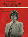 Music Memorabilia:Autographs and Signed Items, Rolling Stones - Mick Jagger Signed Magazine....