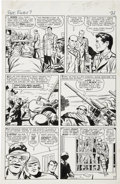 Original Comic Art:Panel Pages, Jack Kirby and George Roussos Sgt. Fury #7, page 17 OriginalArt (Marvel, 1964)....