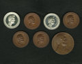 U.S. Presidents & Statesmen, Septet of Uncirculated Lincoln Medals.... (Total: 7 medals)