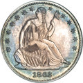 Patterns, 1863 50C Half Dollar, Judd-340, Pollock-412, Low R.6, PR65 NGC....