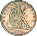Patterns, 1861 P50C Half Dollar, Judd-279, Pollock-330, Low R.7 as Proof,MS65 NGC....