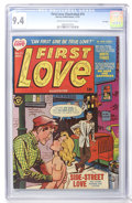 Golden Age (1938-1955):Romance, First Love Illustrated #15 File Copy (Harvey, 1951) CGC NM 9.4 Cream to off-white pages....