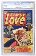Golden Age (1938-1955):Romance, First Love Illustrated #13 File Copy (Harvey, 1951) CGC NM 9.4Cream to off-white pages....
