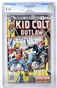 Kid Colt Outlaw #229 (Marvel, 1979) CGC NM 9.4 White pages