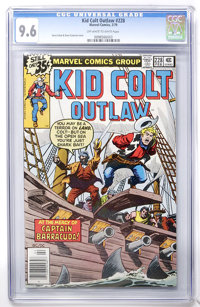 Kid Colt Outlaw #228 (Marvel, 1979) CGC NM+ 9.6 Off-white to white pages