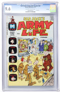 Bronze Age (1970-1979):Humor, Sad Sack's Army Life Parade #44 File Copy (Harvey, 1973) CGC NM+9.6 Off-white to white pages....