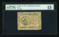 Colonial Notes:Continental Congress Issues, Continental Currency May 9, 1776 $5 PMG Choice Fine 15....