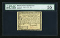 Colonial Notes:Rhode Island, Rhode Island July 2, 1780 $20 PMG About Uncirculated 55....